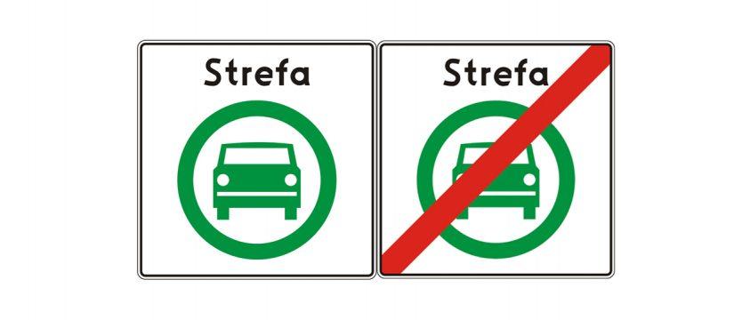 Strefy czystego transportu wyznaczają nowe znaki drogowe